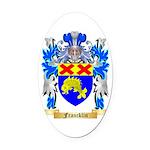 Francklin Oval Car Magnet