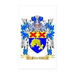 Francklin Sticker (Rectangle 50 pk)