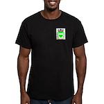 Franck Men's Fitted T-Shirt (dark)