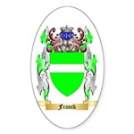 Franck Sticker (Oval 50 pk)