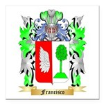 Francisco Square Car Magnet 3
