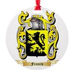 Francis Round Ornament