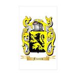Francis Sticker (Rectangle 10 pk)