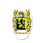 Francis 35x21 Oval Wall Decal