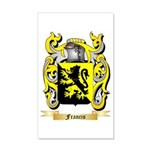Francis 35x21 Wall Decal