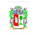 Franciotto Postcards (Package of 8)