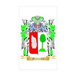Franciotti Sticker (Rectangle 50 pk)