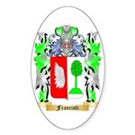 Francioli Sticker (Oval 50 pk)