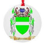 Francine Round Ornament