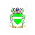 Francine Sticker (Rectangle 50 pk)