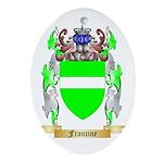 Francine Ornament (Oval)