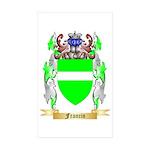 Francin Sticker (Rectangle 50 pk)