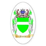 Francin Sticker (Oval)