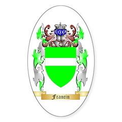 Francin Sticker (Oval 10 pk)