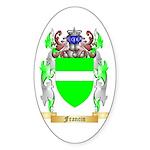 Francin Sticker (Oval 50 pk)