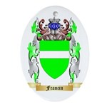 Francin Ornament (Oval)