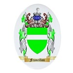 Francillon Ornament (Oval)