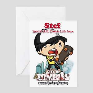 COZ Hero - Stef Greeting Card