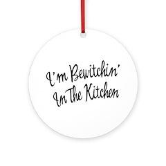Bewitchin' In The Kitchen Ornament (Round)