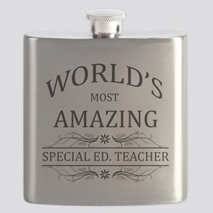World's Most Amazing Special Ed. Teacher Flask