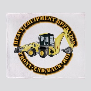 Hvy Eq Opr - Front End/Backhoe Throw Blanket