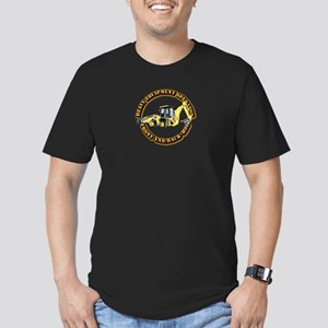 Hvy Eq Opr - Front End Men's Fitted T-Shirt (dark)