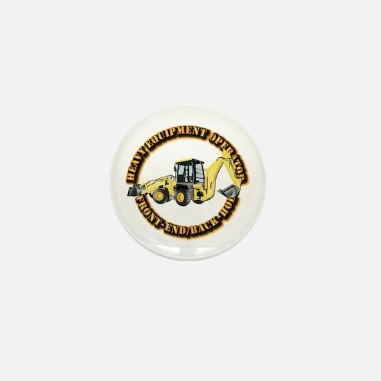 Hvy Eq Opr - Front End/Backhoe Mini Button