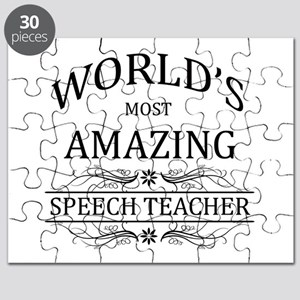 World's Most Amazing Speech Teacher Puzzle