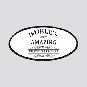 World's Most Amazing Substitute Teacher Patches