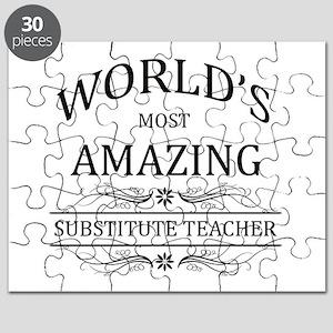 World's Most Amazing Substitute Teacher Puzzle