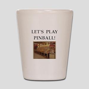 pinball Shot Glass