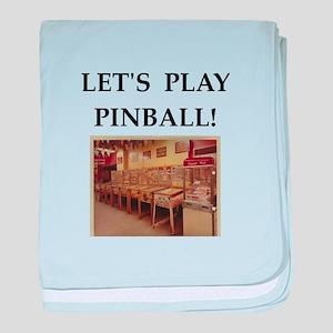 pinball baby blanket