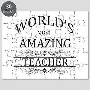 World's Most Amazing Teacher Puzzle