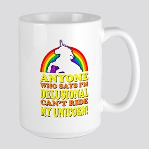 Funny! Delusional Unicorn Mugs