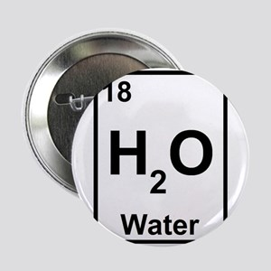 """H2O Water 2.25"""" Button"""