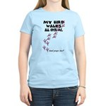 My Bird Walks... Women's Light T-Shirt