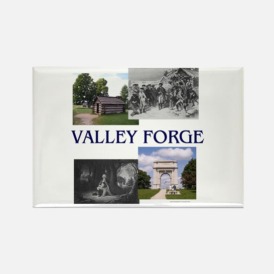 ABH Valley Forge Rectangle Magnet