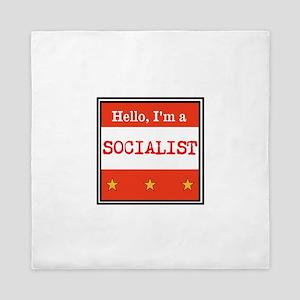 Hello, I'm a Socialist Queen Duvet