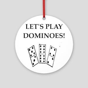 dominoes Ornament (Round)