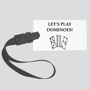 dominoes Luggage Tag