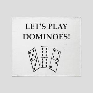 dominoes Throw Blanket