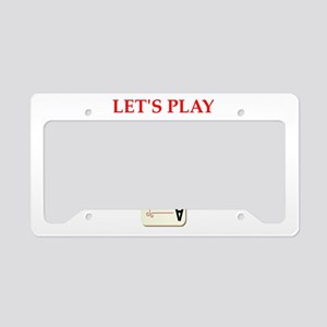 duplicate bridge License Plate Holder