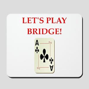 duplicate bridge Mousepad