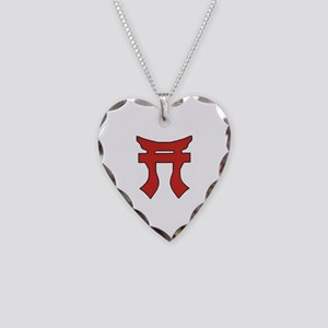 Rakkasan Torii Necklace Heart Charm