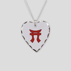 Rakkasan Torii Necklace Heart Charm