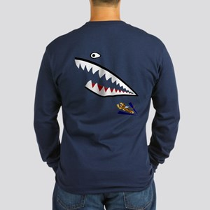 The Flying Tigers Long Sleeve Dark T-Shirt