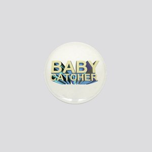 Baby catcher - for midwives - Mini Button