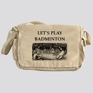 badminton Messenger Bag