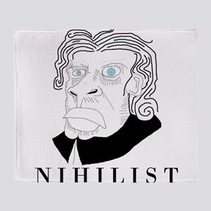 Nihilist Philosophy Throw Blanket