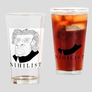 Nihilist Philosophy Drinking Glass